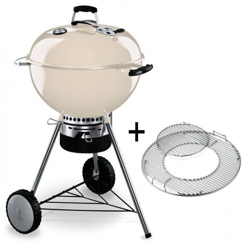 BARBACOA WEBER MASTER-TOUCH 57cm MARFIL GBS